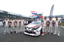 Toyota C-HR คว้าอันดับ 1 รอบคัดเลือก รายการ ADAC Qualifying Race 24h Nürburgring