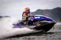 ยามาฮ่ากวาดโพเดี้ยม G-Shock Jet Ski Pro Tour 2018