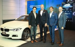 BMW เผยวิสัยทัศน์ยนตรกรรมไฟฟ้า เปิดบริการ BMW ConnectedDrive