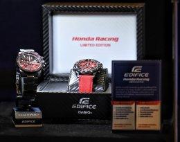 EDIFICE สปอร์ตโครโนกราฟเรือนบาง ออกแบบร่วมกับทีม Scuderia Toro Rosso F1 และ Honda Racing