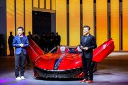 """เอ็มจี เปิดตัว """"MG Cyberster"""" ในงาน Shanghai Auto Show 2021"""