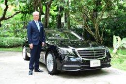 เมอร์เซเดส-เบนซ์ ส่งมอบลิมูซีน เอส-คลาส ให้ 6 โรงแรมห้าดาวของเมืองไทย