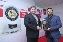 นิสสันฉลองความสำเร็จในการส่งมอบบริการหลังการขายอย่างเป็นเลิศ คว้ารางวัล J.D. Power Award