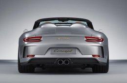 ปอร์เช่ 911 Speedster Concept สปอตพันธุ์แท้ พละกำลังกว่า 500 แรงม้า