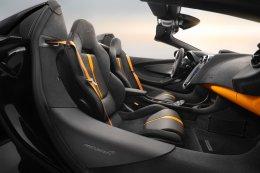 แมคลาเรน เสนอแพ็คเกจตกแต่งรถ 570S Spider Design Edition