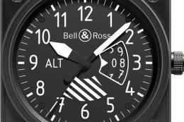 แสงสว่างบนข้อมือ Bell & Ross BR03-92 Bi-Compass