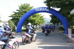 YAMAHA EXCITER TOURING ASEAN เยี่ยมชมสถาบันขับขี่ YRA