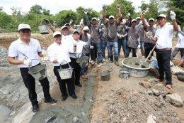 กองทุนฮอนด้าเคียงข้างไทย และ มูลนิธิอุทกพัฒน์ ผนึกพลังชุมชน ร่วมสร้างฝาย
