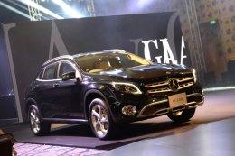 The GLA คอมแพ็คเอสยูวีโฉมใหม่ สมรรถนะสูง