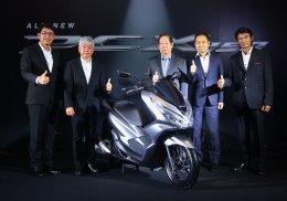 """All New Honda PCX150"" สุดยอดเทคโนโลยีและดีไซน์หรู"