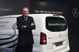 เมอร์เซเดส-เบนซ์ ส่งมอบรถ 24-Hour Service Vito