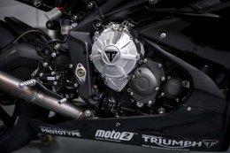 """""""ไทรอัมพ์"""" เผยความคืบหน้าการพัฒนาเครื่องยนต์ไทรอัมพ์ Moto2"""