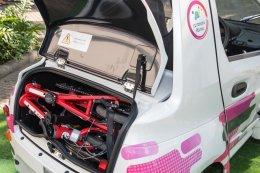 """โตโยต้าเปิดโครงการ """"CU TOYOTA Ha:mo"""" ให้บริการรถยนต์ไฟฟ้าขนาดเล็ก"""