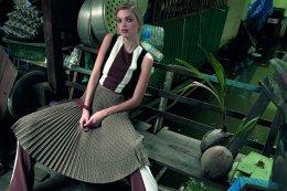 Vogue Thailand ครบรอบ 4 ปี นำนางแบบระดับโลกถ่ายแบบกลางคลองบางกอกน้อย