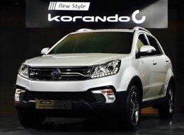 New Korando C facelift ดีเซล เทอร์โบคอมมอนเรล