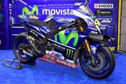 เผยโฉม YZR-M1 พร้อมกราฟฟิกพิเศษ ENEOS สำหรับ Movistar Yamaha Motogp ที่จะใช้แข่งในสนามเซปังฯ