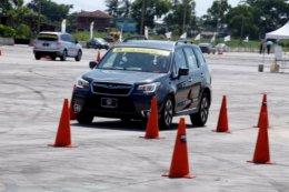 ขับเป็น ขับปลอดภัย กับสื่อสากล ผู้ร่วมอบรมเต็มทุกรอบ