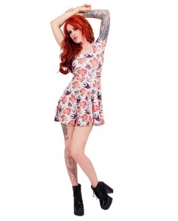 Liquor Brand ROSE TATTOO Damen Kleid