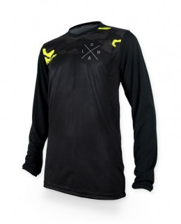 Loose Riders STEALTH YELLOW Herren Jerseys Lange Ärmel