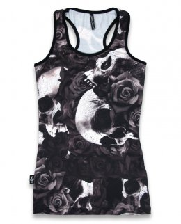 Liquor Brand DOOMED Damen Tank Tops