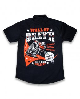 Hotrod Hellcat WALL OF DEATH Herren Hemd