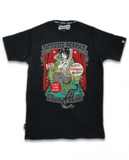 Liquor Brand TATTOOED MERMAID Herren T-Shirts