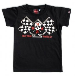 Hotrod Hellcat FLAGS Kinder T-Shirts
