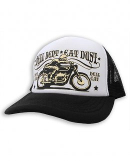 Hotrod Hellcat HELL BENT EAT DUST BIKE WHITE Zubehör Kappe