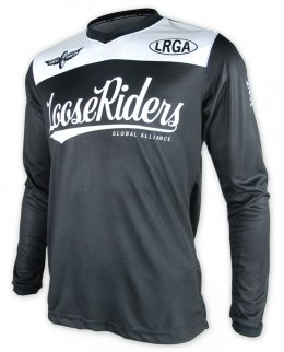 Loose Riders TEAM ISSUE BLACK Herren Jerseys Lange Ärmel