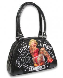 Liquor Brand STEWED SCREWED TATTOOED Zubehör Taschen-Handtaschen