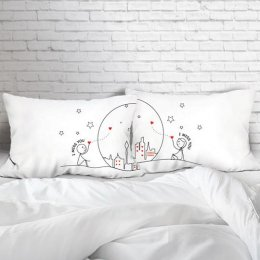WISH UPON A STAR SET/2 PILLOW CASE