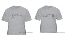 Love song couple T-shirt