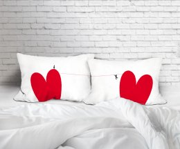 LOVE IN ROPE SET/2 PILLOW CASE