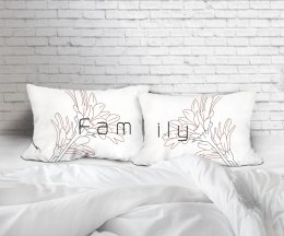 FAMILY SET/2 PILLOWCASES
