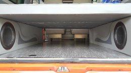 รถตู้ hiace ตกแต่งเป็นรถนอน