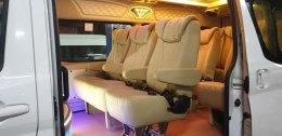 เบาะ VIP 3แถว 9ที่นั่ง เสริมหมอนใหญ่