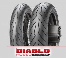 Pirelli DIABLO ROSSO SCOOTER : 120/70-15+150/70-14