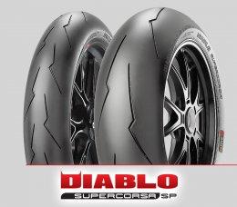 Pirelli DIABLO SUPERCORSA SP V2 : 120/70ZR17+180/60ZR17