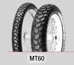 Pirelli MT60 : 100/90-19+140/80-17