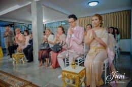 งานพิธีแต่งงานคุณปาล์ม คุณเชา