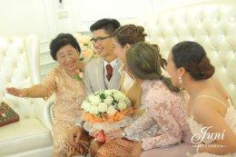 งานแต่งงานคุณจันทร์  & คุณเอ