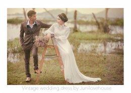 รีวิวชุดแต่งงานวินเทจ