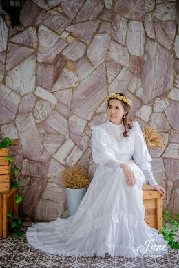 ถ่ายแบบชุด Vintage wedding Dress