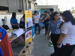 งาน Safety Week วันที่ 22 พ.ย. 2561 @บริษัท โฟเรอเซีย แอนด์ ซัมมิท อินทีเรีย ซิสเต็มส์ (ประเทศไทย) จำกัด