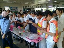งาน Safety Week วันที่ 23 พ.ย. 2561 ณ บริษัท จีเคเอ็น (ประเทศไทย) จำกัด