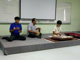 การสอบปฎิบัติเครื่องดนตรีขิม  ครั้งที่ 2/2561