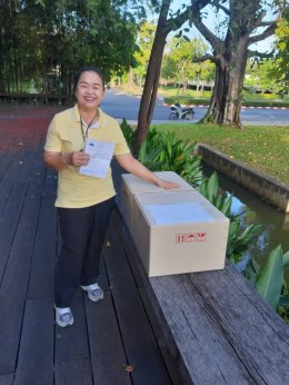 รีวิว ภาพการจัดส่ง Snack Box ชุดอาหารว่างซาลาเปาทับหลีประกายจันทร์