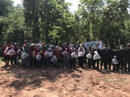 คณะเกษตรศาสตร์และทรัพยากรธรรมชาติ ม.พะเยา ร่วมกับเทศบาลตำบลแม่กา หน่วยป้องกันและพัฒนาป่าไม้เมืองพะเยา และหมู่บ้านเวียงบัว จัดโครงการคืนป่า คืนอึ่งเพ้า (เค่า)