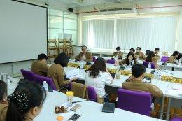 คณะเกษตรศาสตร์ฯ จัดโครงการทำบุญตักบาตรและประชุมบุคลากรคณะเกษตรศาสตร์