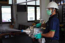 งานบริการพ่นละอองน้ำยาฆ่าเชื้อไวรัสและแบคทีเรีย